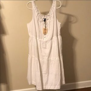Old Navy online exclusive white dress